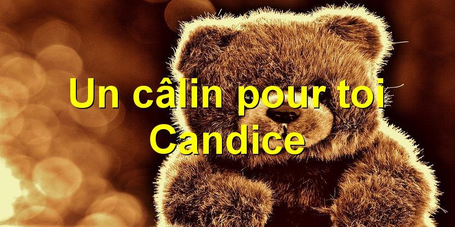 Un câlin pour toi Candice