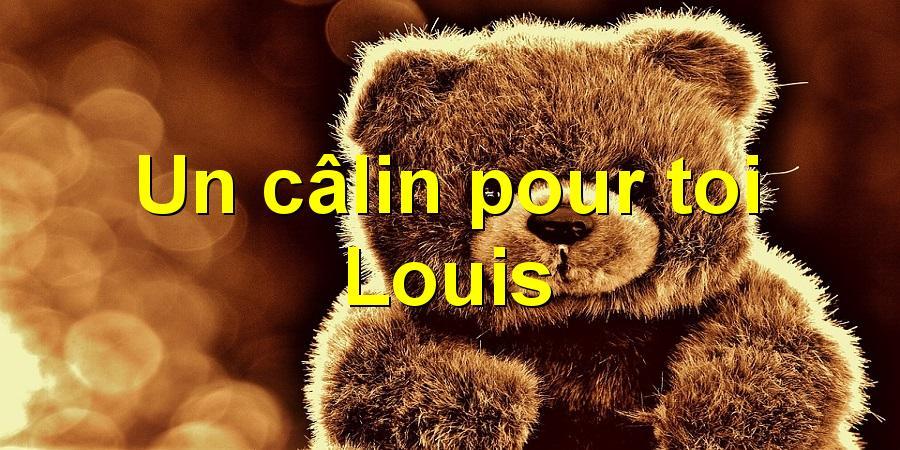 Un câlin pour toi Louis
