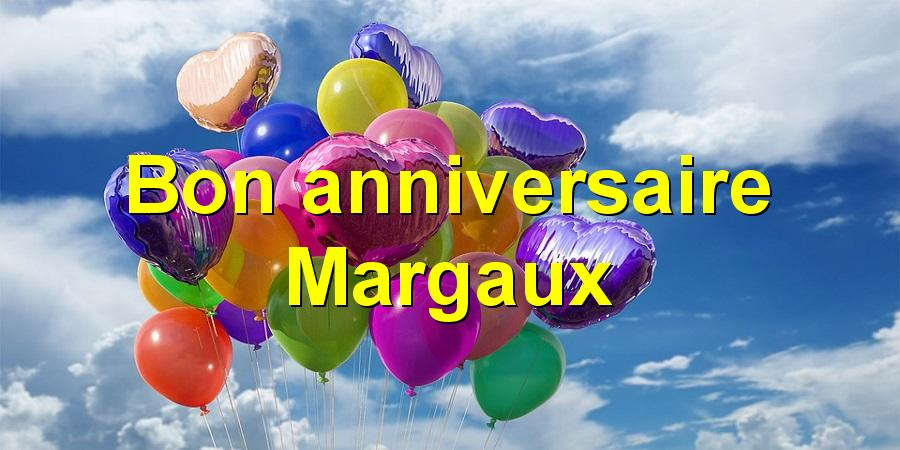 Bon anniversaire Margaux