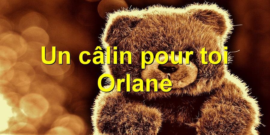 Un câlin pour toi Orlane