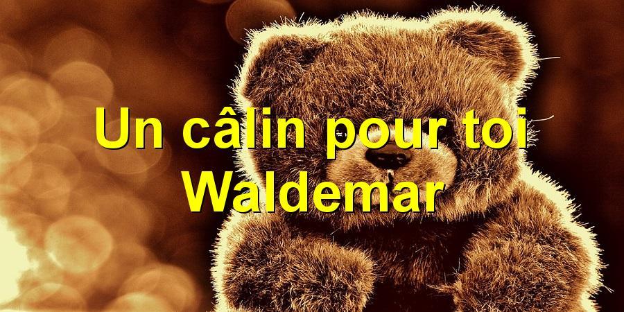 Un câlin pour toi Waldemar
